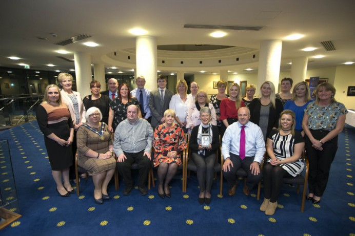 Volunteers recognised at Reception
