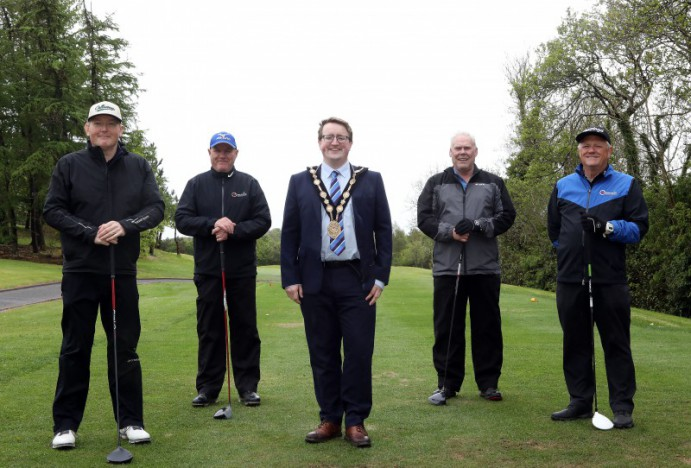Vital funds raised for local foodbanks at Mayor's Charity Golf Day
