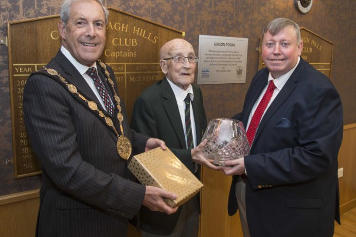 Castlereagh Hills Golf Club Secretary Honoured at Council Reception