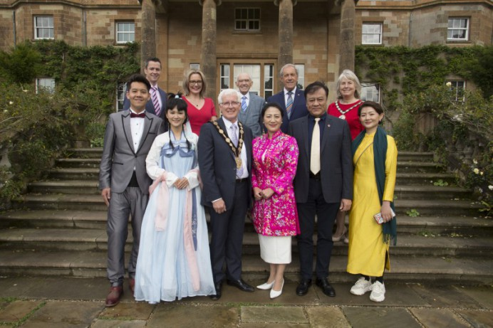 Chinese Tea Ceremony in Hillsborough Castle and Gardens