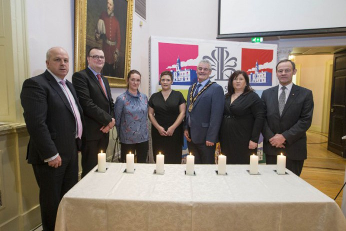 Council and Community Gather for Holocaust Memorial Day