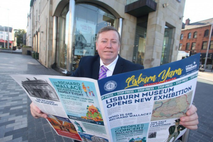 Sir Richard Wallace Souvenir Newspaper Launched