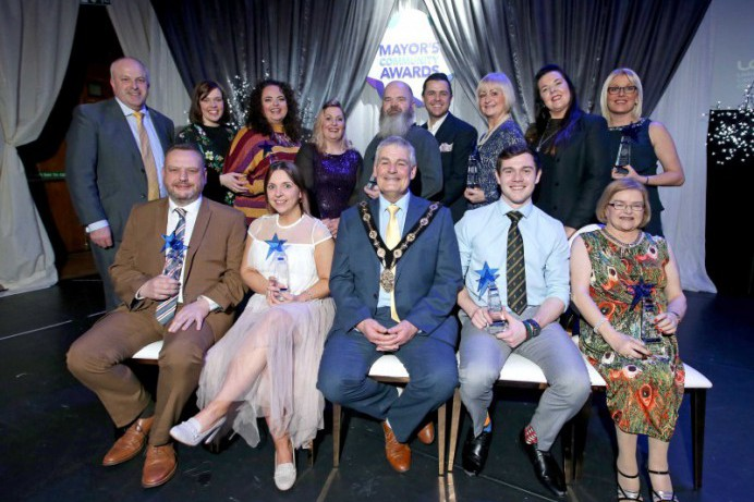 Mayor recognised contribution of the Local Community at Gala Awards