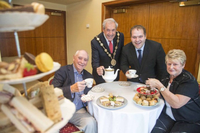 Fancy Afternoon Tea with the Mayor?