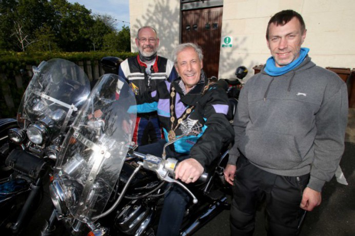 Mayor's charity motorcycle ride is a roaring success!
