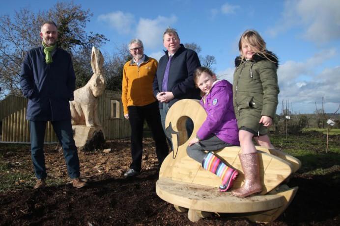Moira Sensory Wildlife Garden Opens
