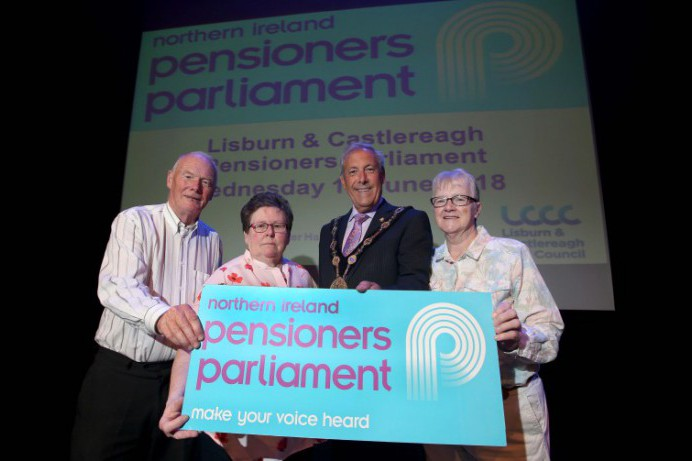 Lisburn and Castlereagh pensioners make their voice heard