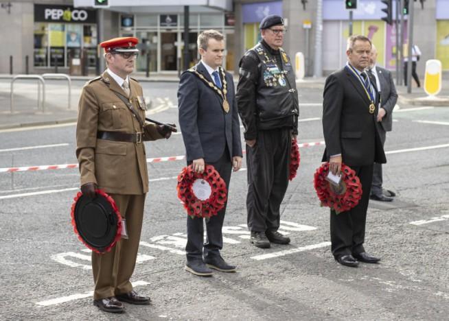 Lisburn remembers soldiers killed in Half Marathon bomb attack