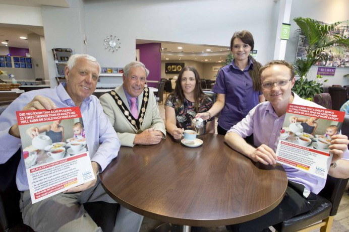 Council Launches Scald Prevention Campaign