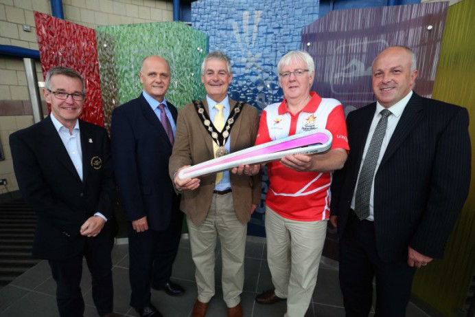 Queen's Baton Relay Comes to Lisburn & Castlereagh