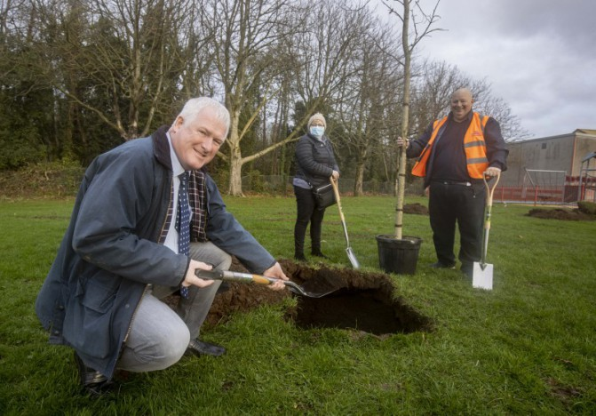Council brings a new path of biodiversity to Lisburn
