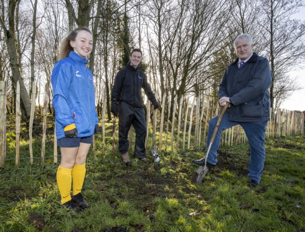 Council partner up on tree-mendous project at Lough Moss