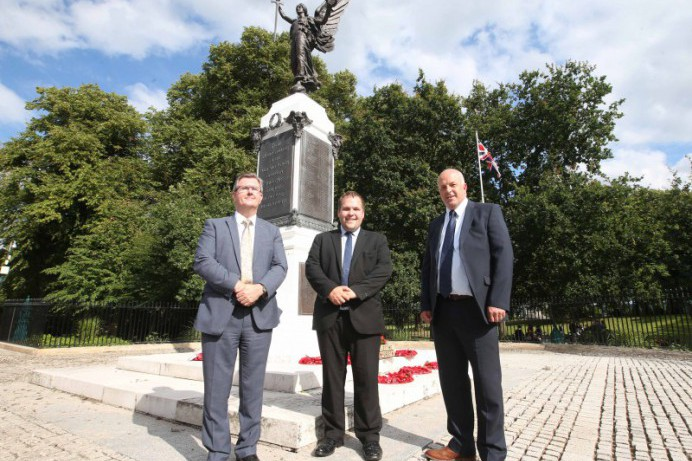 Council Prepares War Memorials for Armistice Day