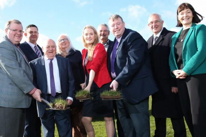 Work Starts on Sports Hub at Ballybeen