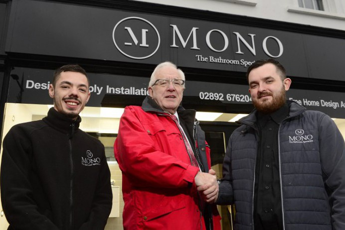 Mono the bathroom specialists in the heart of Lisburn City Centre