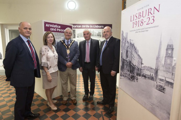 The new 'Lisburn 1918-23' exhibition opens at the Irish Linen Centre & Lisburn Museum