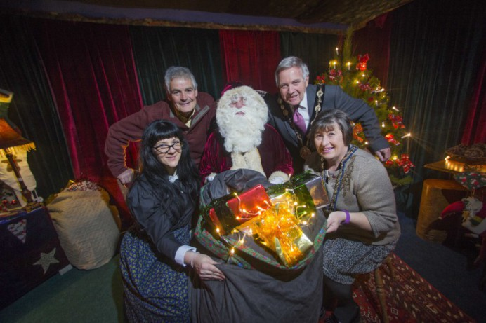 Santa's Grotto at the Irish Linen Centre to Raise Money for TinyLife