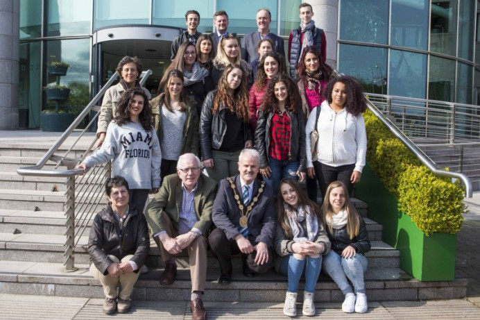 Council Delighted to Host EU Millennials Tours