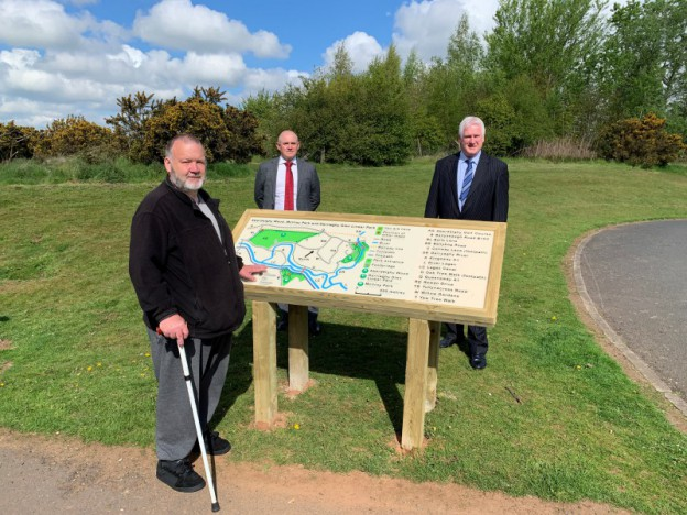 Council installs further 'Map for All' signs