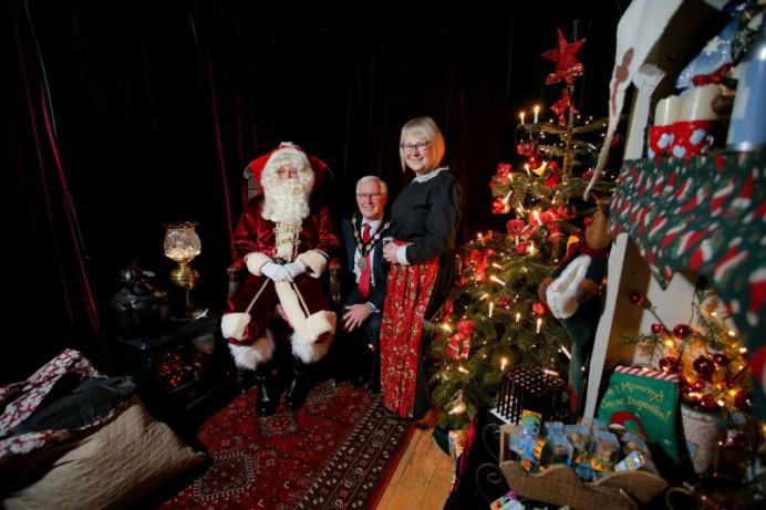 Santa's Grotto to Raise Money for Air Ambulance NI