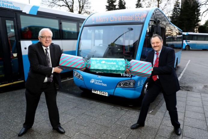 Translink has launched a festive travel package for Lisburn and Castlereagh residents