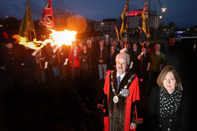VE Day remembered as Council joins with Lisburn Royal British Region
