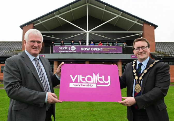 Council launches new gym at Billy Neill MBE Country Park