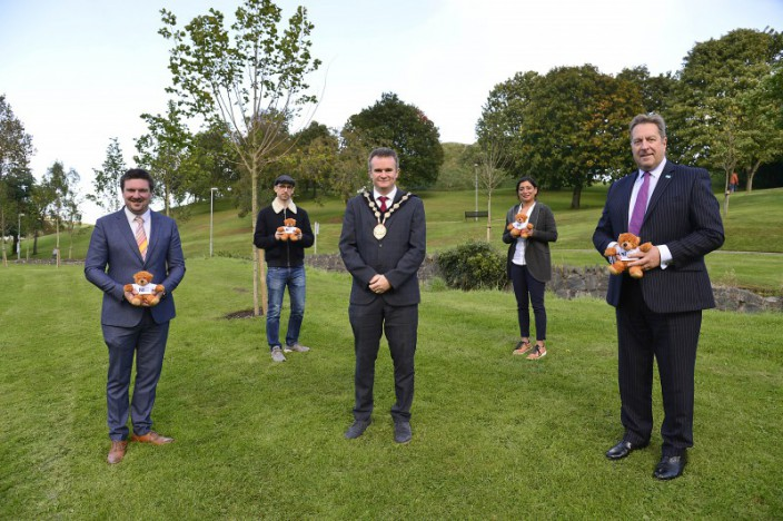 South Eastern Trust welcomes new additions to Moat Park in Dundonald
