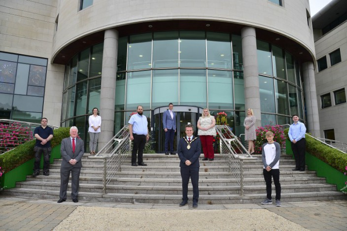 Local Apprentices join the team at Lisburn & Castlereagh City Council