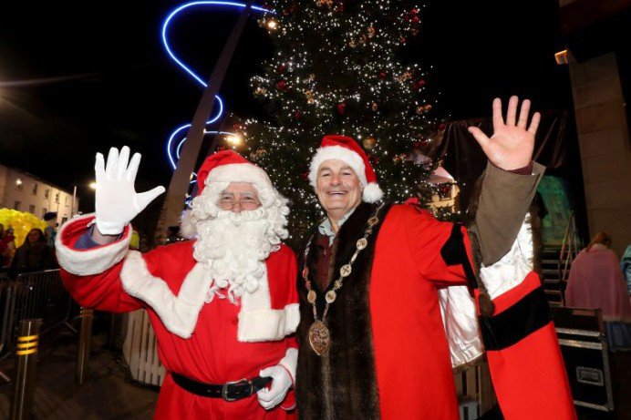 Lisburn lights up for Christmas