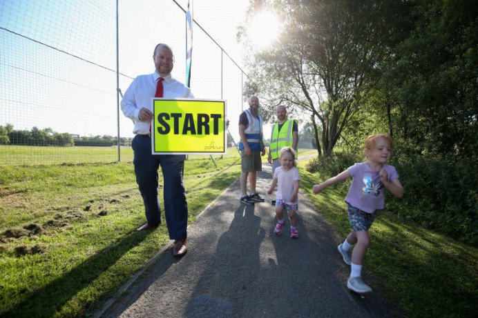 New Junior Parkrun Announced at Lough Moss Leisure Centre