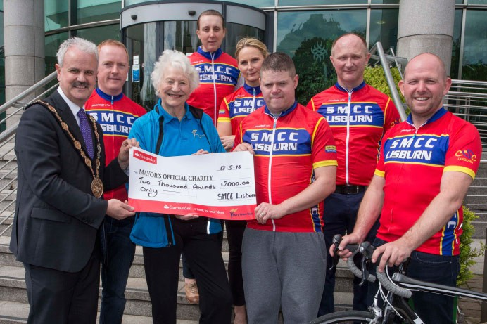 Local Cycling Club Raises £4,000 for Good Causes