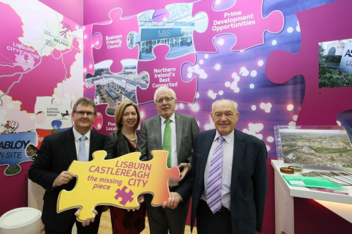 'The Missing Piece' - Lisburn & Castlereagh City CounciI at MIPIM UK