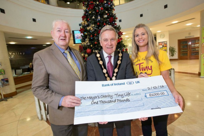 Funds raised for Mayor's Charity - TinyLife