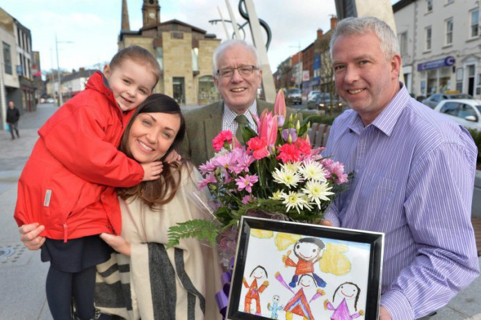Ballymacward PS. Pupil wins Council Artwork Competition