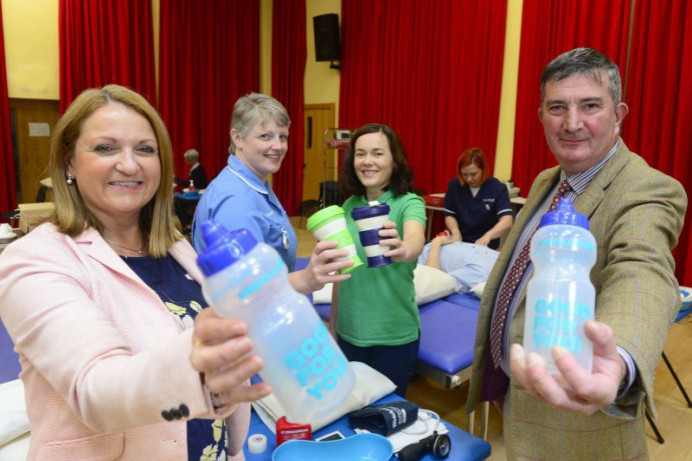 NI Blood Transfusion Service Encourages The Use of Reusable Bottles