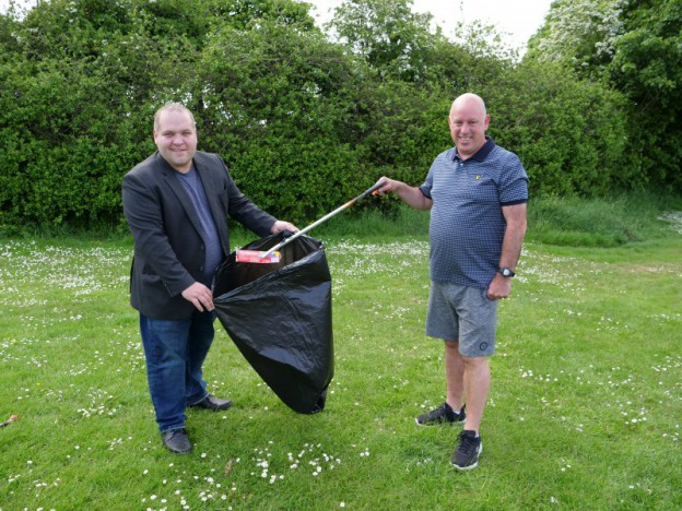 Local man recognised for Community Clean Up Challenge