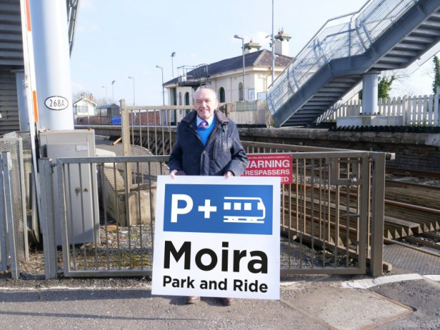 Give your views on improvement plans for Moira Park and Ride.