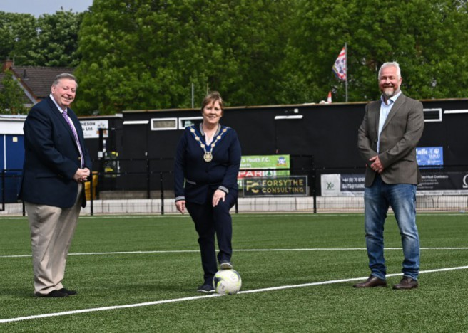 Ballymacash Sports Academy has been successful with its application for the council's new pilot fund