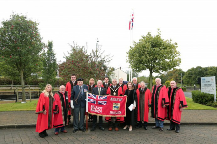 Council Fly the Red Ensign Flag on Merchant Navy Day