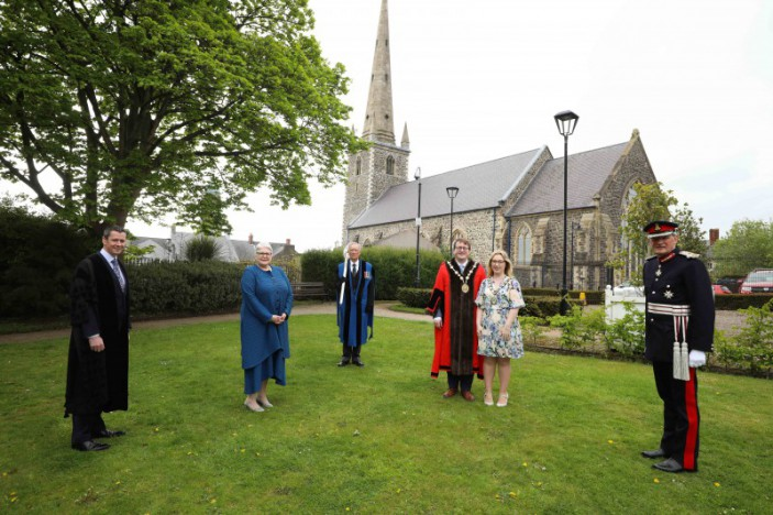 Council hosts church service as part of its NI centenary celebrations