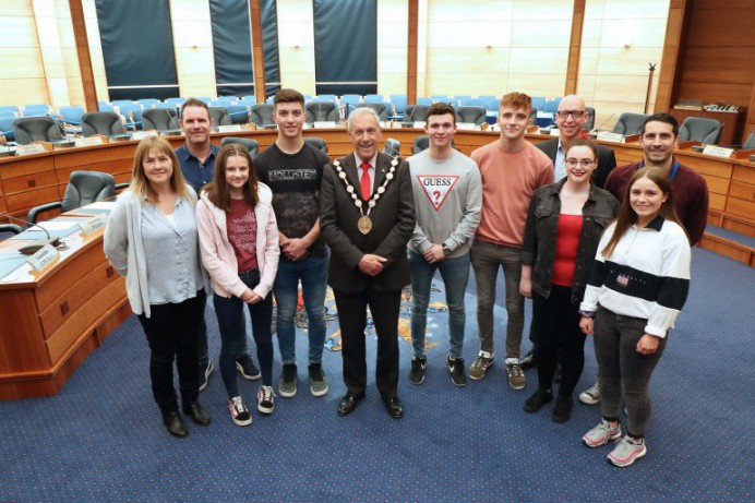 Local Youth Council Questions the Mayor