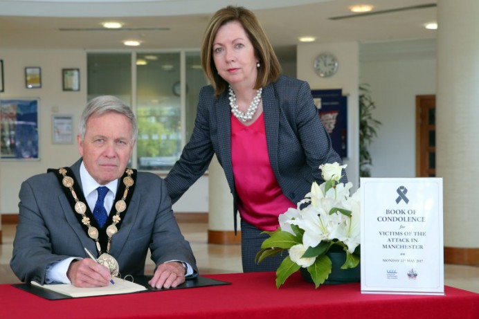 Council opens Book of Condolence for attack in Manchester