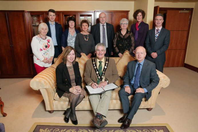 Council Sign Letter of Commitment on International Older People's Day