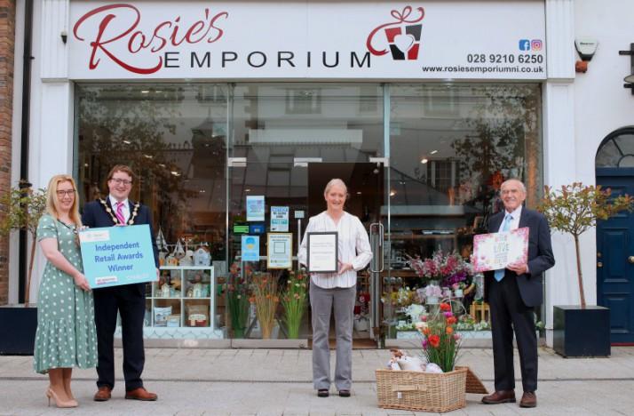 Lisburn retailer strikes gold in Independent Retailers NI Awards