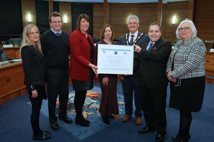Lisburn & Castlereagh City Council Awarded Charter Status