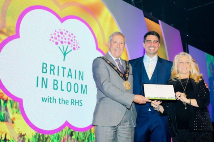 Second Double Award Secured for Hillsborough at Britain in Bloom
