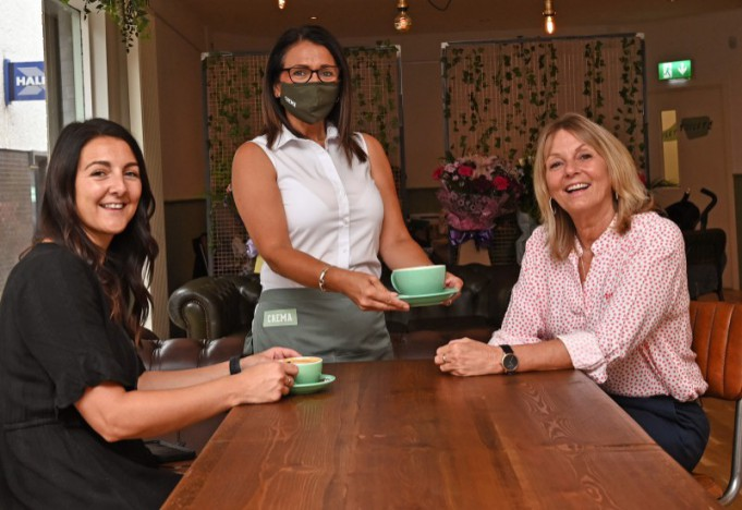 CREMA coffee house opens in Market Square
