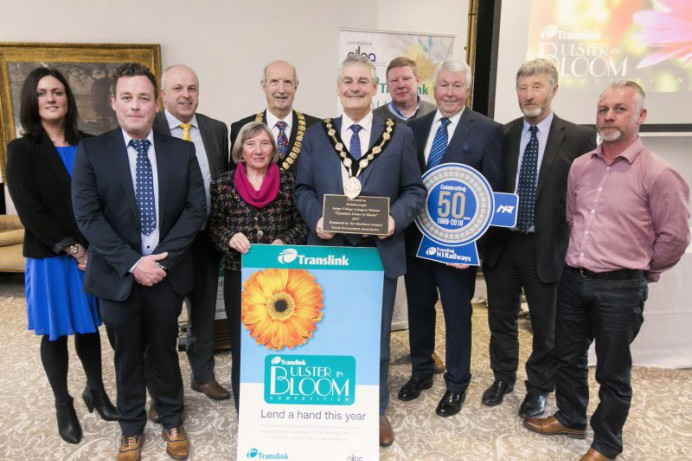 Flower Power Rules in Hillsborough at Translink Ulster in Bloom Awards