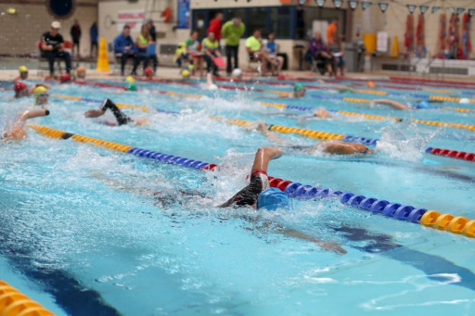 Victory Celebrations at the 2018 Lisburn City Triathlon & Aquathlon